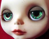 OOAK Handpainted eye chips for Blythe 001