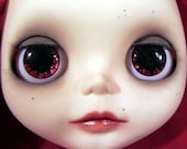 OOAK Handpainted eye chips for Blythe 002