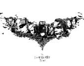 Dark Knight Trilogy Print