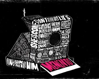 Memento Film Poster DUTCH TILTS EXHIBITION