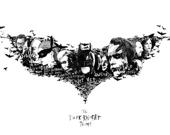 Dark Knight Trilogy Print