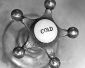 Vintage Faucet-Cold  8x10