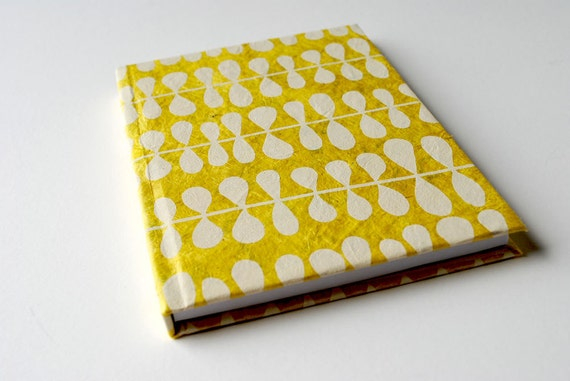 Customized Journal -Yellow Vine -