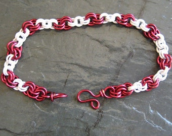 Team Spirit  Alabama, Indiana, Wisconsin  Colors Cheer  Bracelet