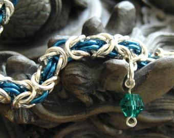 Pacific Blue Byzantine Bracelet