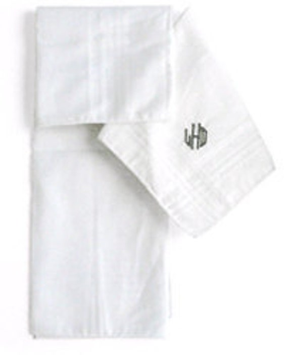 10 Men's Handkerchiefs w/Custom logo
