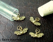 Golden Snitch Stitch Markers - Harry Potter Collection Set of 4