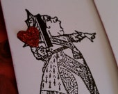 Queen of Hearts Tag set of 2