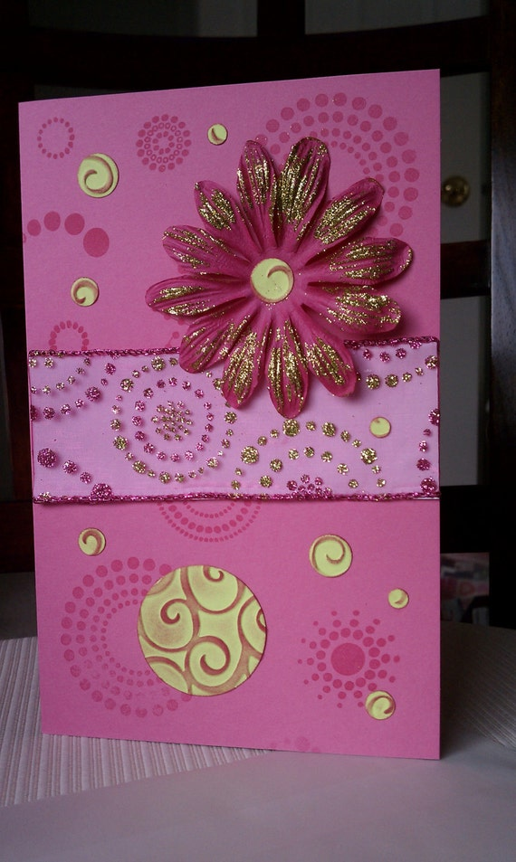Happy Sweet 16 Birthday Card and Envelope