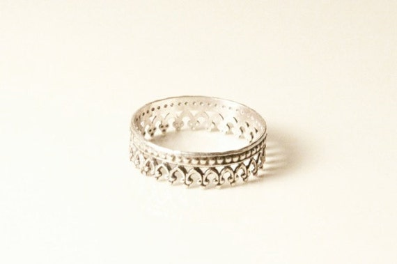 RESERVED for Estrella size 6 Single Armor Ring