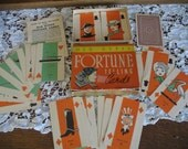Vintage 1930's Old Gypsy FORTUNE Telling CARD GAME-Whitman Publishing Co. Tarot Cards