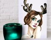 CARD PACK - My Deer Holidays (5 cards per pack)