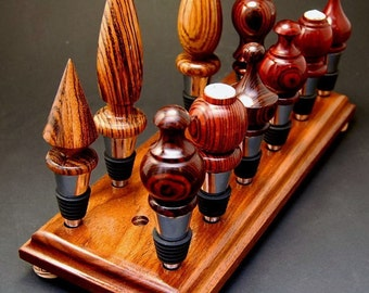 Items Similar To Wine Stopper Display Rack Holder Wall