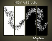 """NGY  36"""" x48"""" Custom made R. Silva Original Modern Abstract Contemporary Fine Art Painting"""