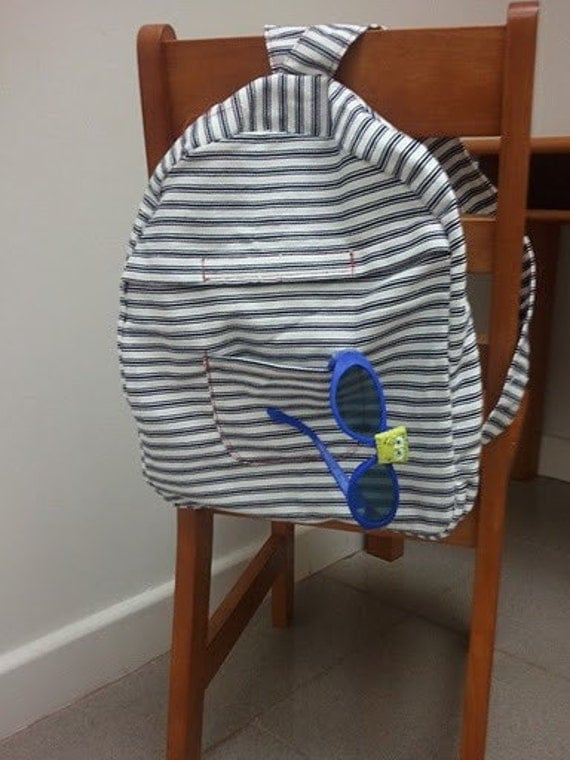Toddler to Preschooler Easy-Pack Backpack by Mama's Quiet Time
