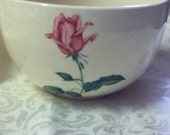 BOWL Collectors Marked Bowl ROSE