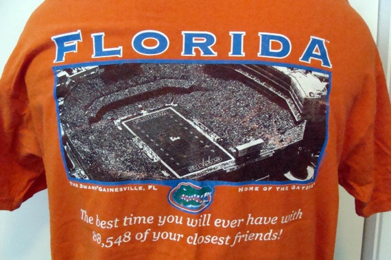 Vintage Gator Tee Shirt - All Your Friends at The Swamp GameDay Tee