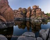 Watson Lake Photo Arizona Canvas Wrap Reflections - 20 x30 Fine Art