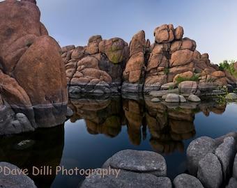 Watson Lake Reflections - Fine Art Photograph