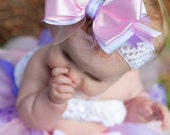 Pretty-n-Pink Satin Boutique Bow