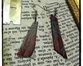 Trashion Earrings 'Anatomic Garden'