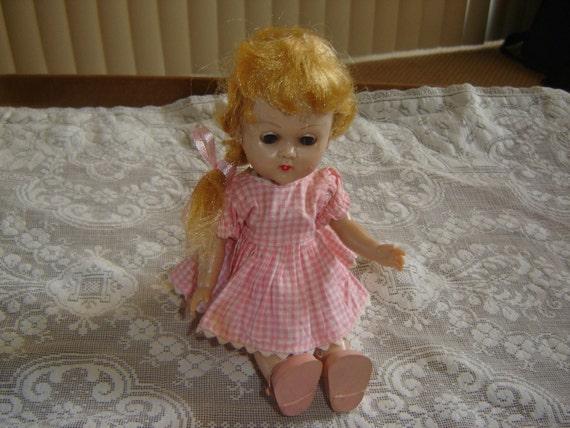 Blonde  Vintage Ginny Doll