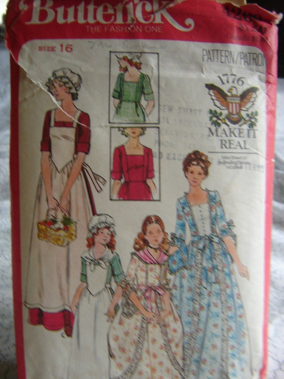 Colonial Gown Pattern