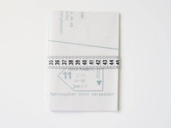 Tailors notebook
