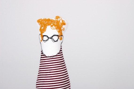 you sure know someone like that( friend,father, son, brother or uncle) handmad cloth doll