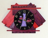 Red Hatter 2 Wall Clock