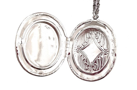 Devil Girl  Locket - Cameo Necklace
