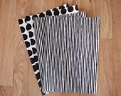 Stripes This Way & Little Dots - Screen Printed Wrapping Paper Set