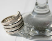 Reserved Listing for greenlanddesigner Modern Silver Ring