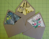 "Lined Envelopes Set of 3- ""Madeline"""