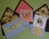 RESERVED LISTING- Simple Pleasures Flat Cards 3 Pack