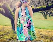 Birdie Park...The Stella Dress...sweet tea for kids...Sizes 18-24mos, 2, 3, 4, 5, 6, 7, 8