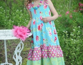 Sugar Blossoms...Sundress...Sizes 18mos to 8...sweet tea for kids