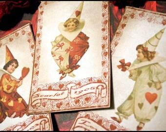 Three Little Loves Scrapbooking Ephemera Set of 3