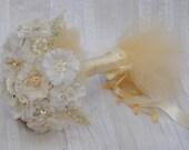 Vintage Love Lace Flowers Bouquet