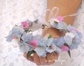 Greek Style Wedding Wreath With Bougainvillea And Olive Leaves ,mediterranean Wedding Wreath, CAROLINE