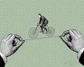 Funambulist On Wheels (6x8 print)