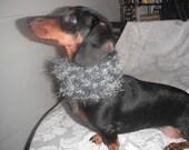 small dog neck cozy black