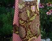 Sale Girls pillowcase dress Great for Thanksgiving, Amy Butler Lacework perfect for fall by Baby Harrill