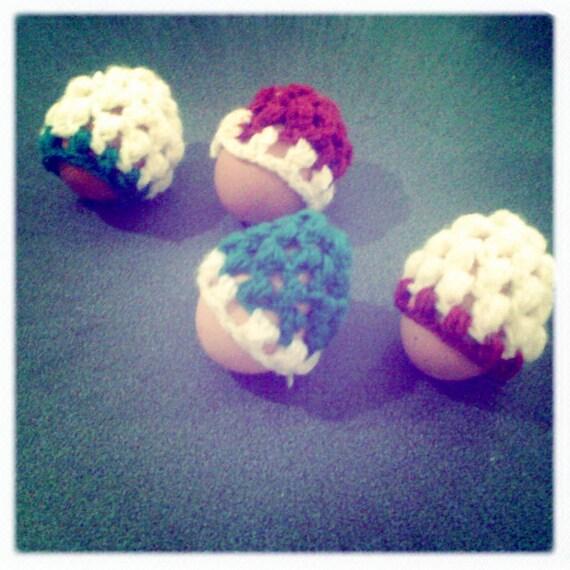 Crochet Egg Warmers - Set of 4
