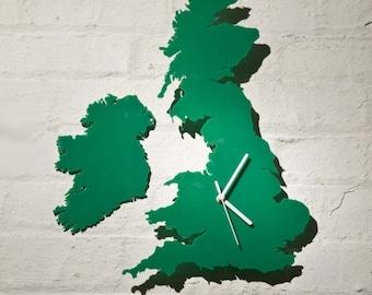 UK Clock (Green)