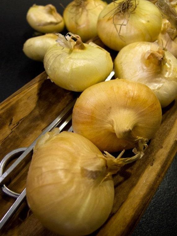 Heirloom Borettana Yellow Onion (Cipollini) Seeds