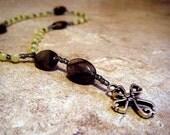 Jade Green Anglican Prayer Beads