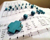 Turquoise Anclian Rosary