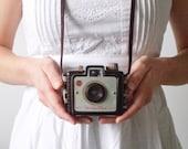 Vintage Camera - Chocolate Brown Kodak Brownie Holiday