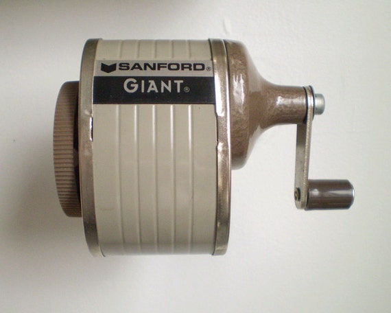 Old Fashioned School Pencil Sharpener